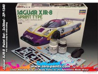 ZP1240 Jaguar XJR-8  paint set 2x30 ml Paint Material