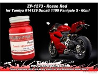 ZP1273 Rosso Red for Ducati 1199 Panigale paint 60 ml Paint Material