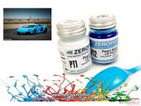 ZP1341 LB Performance Pearl Baby Blue paint set 2x30 ml Paint Material