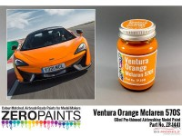 ZP1441 Mclaren 570S  Ventura orange (Pearl) paint  60 ml Paint Material