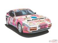 HAS20315 Porsche 944 Turbo Racing  Turbo Cup 1987 #1 Plastic Kit