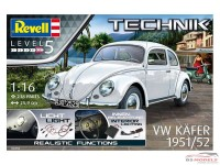 "REV00450 VW Käfer 1951  ""Technik""  incl led light system Plastic Kit"