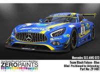ZP1481 Mercedes AMG GT3 Team Black Falcon Blue  60 ml Paint Material