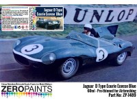 ZP1489 Jaguar D-Type Ecurie Ecosse Blue  60 ml Paint Material