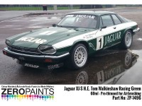 ZP1496 Jaguar XJ-S H.E Tom Walkinshaw Racing green 60 ml Paint Material