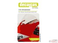 DCLVAC006 Vacuum Formed visor for Ducati Desmodedici  (TAM14101) Multimedia Accessoires