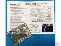 TK24451 BMW 2002 Tii / Turbo  detail PE set Etched metal Transkit