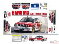BEE24016 BMW M3 (E30) Tour de Corse 1989  Chatriot/Perin  4th Plastic Kit