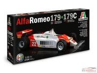 ITA4704 Alfa Romeo 179 - 179 c   version 1979-1980-1981 Plastic Kit