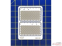 HME038 Aluminium doorpanels Etched metal Accessoires