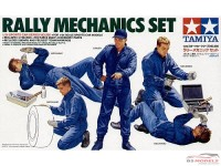 TAM24266 Tamiya Rally Mechanics figures set Plastic Kit