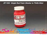 ZP1003 Bright Red paint (similar to TS49) paint 60ml Paint Material