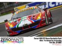 ZP1007-10 Ferrari 488 GTE Rosso Barchetta 312 Red paint 60ml Paint Material