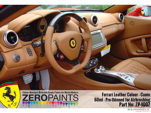 Zp 1007 7 Ferrari Leather Colour Cuoio 60ml