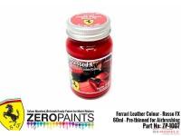 "ZP1007-9 Ferrari Leather colour ""Rosso FX""  60ml Paint Material"