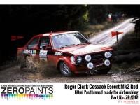 ZP1512 Roger Clark Cossack Escort MK2 Red paint 60ml Paint Material