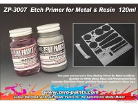 ZP3007 Etch Primer for Metal / Resin  2x60ml Paint Material