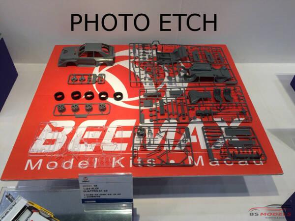 BEE24017UP Audi Quattro S1  1985 Monte Carlo detail up set Multimedia Accessoires