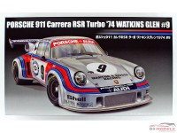 FUJ126494 Porsche 911 carrera RSR Turbo  #9 Watkins Glen 1974 Plastic Kit