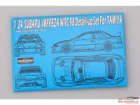 HD020249 Subaru Impreza WRC 98 detail set (PE+resin+metal parts) for TAM Multimedia Accessoires