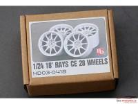 HD030418 Rays CE28 wheels  18' Multimedia Accessoires