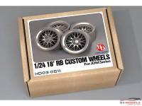 HD030511 RB Custom wheels (resin+metal wheels+PE) Multimedia Accessoires