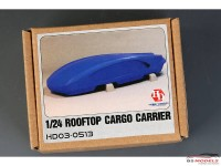 HD030513 Rooftop Cargo Box  A  (resin+decal) Multimedia Accessoires