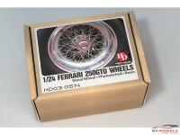 HD030514 Ferrari 250 GTO wheels (PE+resin+metal wheels) Multimedia Accessoires