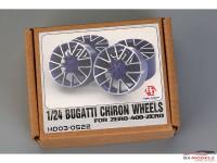 HD030522 Bugatti Chiron wheels  (decal+resin wheels) Multimedia Accessoires