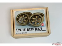 HD030525 Rays TE37V wheels 18' (reisn+metal wheels) Multimedia Accessoires