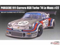 FUJ126487 Porsche 911 carrera RSR turbo #22  LM 1974 Plastic Kit