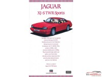 HAS20339 Jaguar XJ-S  TWR  Sports Plastic Kit