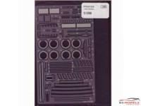 STU27FP24104 Ferrari 512BB  upgrade parts Etched metal Accessoires
