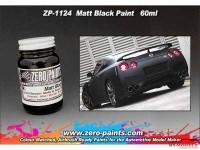 ZP1124 Matt black paint  60ml Paint Material
