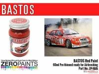 ZP1515 Bastos red paint  60ml Paint Material