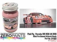 ZP1521 Pink Pig Porsche 991 RSR  LM 2018 paint 60ml Paint Material