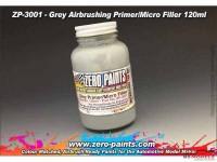 ZP3001 Grey Filler primer  120ml airbrush ready Paint Material