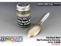ZPM1008 Zero Metal Pale Burnt Metal paint 30ml Paint Material