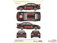 SK24059 Ford Sierra RS500  Texaco 1988 Waterslide decal Decal