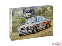 ITA3650 Ford Escort RS1800 MK II RAC Rally 1981 Plastic Kit