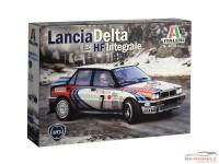 ITA3658 Lancia HF Integrale Plastic Kit