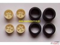 "SPRF24039 15"" Porsche Fuchs RSR wheels & tires (slick) Multimedia Accessoires"
