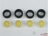 "SPRF24067 15"" Minilite wheels + tires (tread) Multimedia Accessoires"