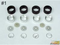 "SPRF24116-1 17"" Alpina DTM  wheels + tires+ring Multimedia Accessoires"