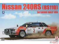 BEE24014 Nissan 240 RS (BS110) Safari rally 1984 Plastic Kit