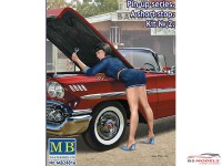 "MB24016 A Short Stop #2  ""Pin Up series"" figure Plastic Kit"