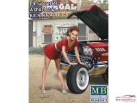 """MB24017 A Short Stop #3  """"Pin Up series"""" figure Plastic Kit"""