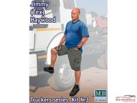 "MB24043 Jimmy (Tex) Haywood  ""Trucker series""  figure Plastic Kit"
