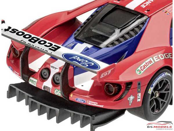 REV07041 Ford GT Le Mans 2017 Plastic Kit
