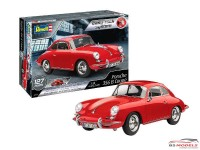 REV07679 Porsche 356 B  (pre-painted) Plastic Kit